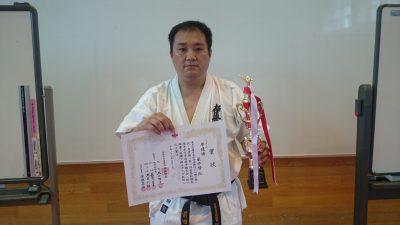 シニア上級準優勝 前田勝
